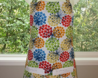 Full Aprons - Womens Aprons - Flower Balls
