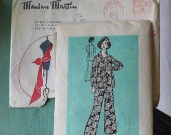 NEW YEAR SAVINGS Pant Set by Marian Martin pattern 9039