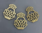 Solid Brass Pineapple Kitchen Cooking Trivet