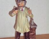 Dentist Figurine, LUV-28 Figure, Vintage Seymour Mann Dentist Figurine, Dentist Statue, Vintage Mann 1973 Lovables 28