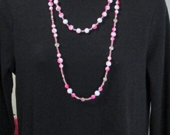 Pretty in Pink Necklace X2