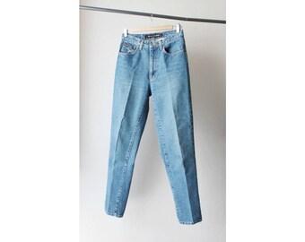 1990s DKNY High Waist Skinny Jeans