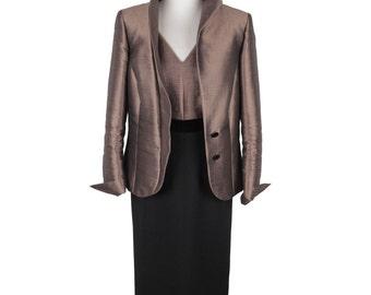BOTONDI MILANO Vintage SHEATH dress and jacket dress suit