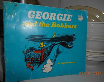 Vintage Scholastic Book Georgie and the Robbers by Robert Bright Ghost Story