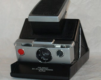 Polaroid Working SX-70 Polaroid Land Camera Alpha for Impossible Project SX-70 Film
