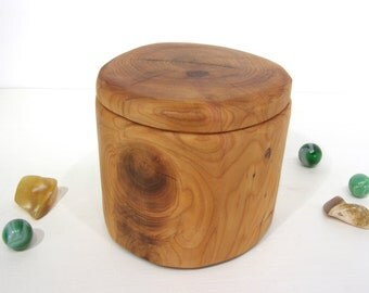 Pacific Yew Heart Box, small cremation urn,  wooden jewelry box, 5th wedding anniversary, retirement gift, office desk organizer, wood art