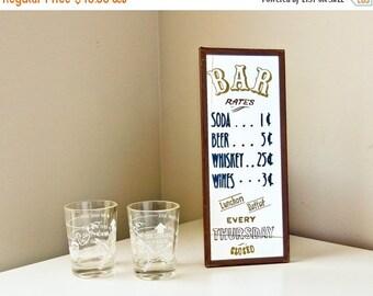 Sale Funny Bar Sign Humorous Shot Glasses Cocktail Measure