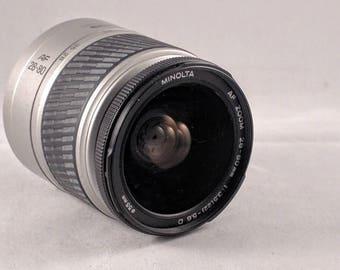 Minolta AF zoom 28-80mm f/3.2 -5.6  A type mount zoom lens