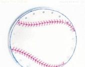 BLACK FRIDAY Baseball lacing card - sewing card - educational learning toy - fine motor skills - hand eye corrdination #3834