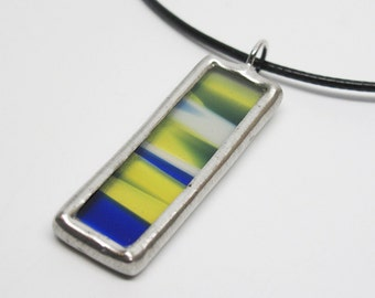 Nautical - Stained Glass Pendant
