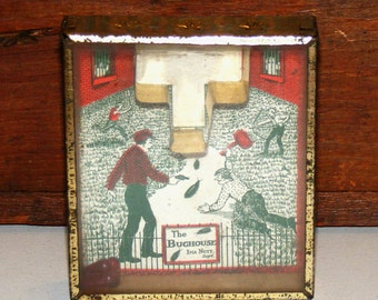 Antique Dexterity Game The Bug House Bar - Zim Toy Mfg New York USA