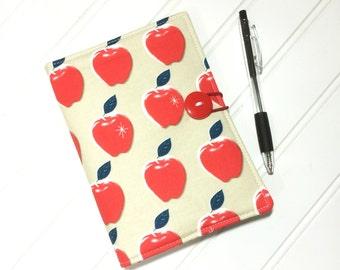 Apple list taker, Teacher gift, Teacher Appreciation, End of year gift, Apple gift, Notebook cover, List taker, Mini Shopper, Receipt holder
