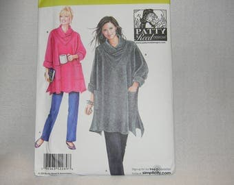 New Simplicity Pattern 2289 Size XS-XXL Misses' Loose Fitting Tunic and Pants