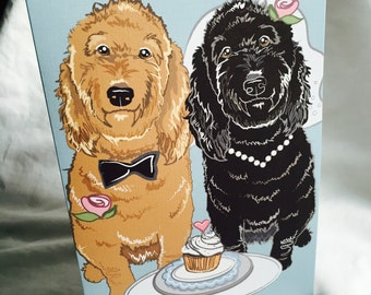 Wedding Doodles - Greeting Card