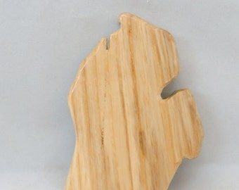 Unique Michigan Lower Peninsula Beer Tap Handle - Made To Order - 4 inch  - Man Cave