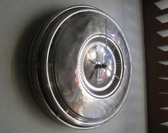 1968-70 Ford Mustang Hubcap Clock  No.2491