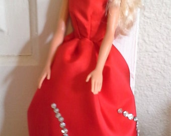 Barbie Red Ball Gown