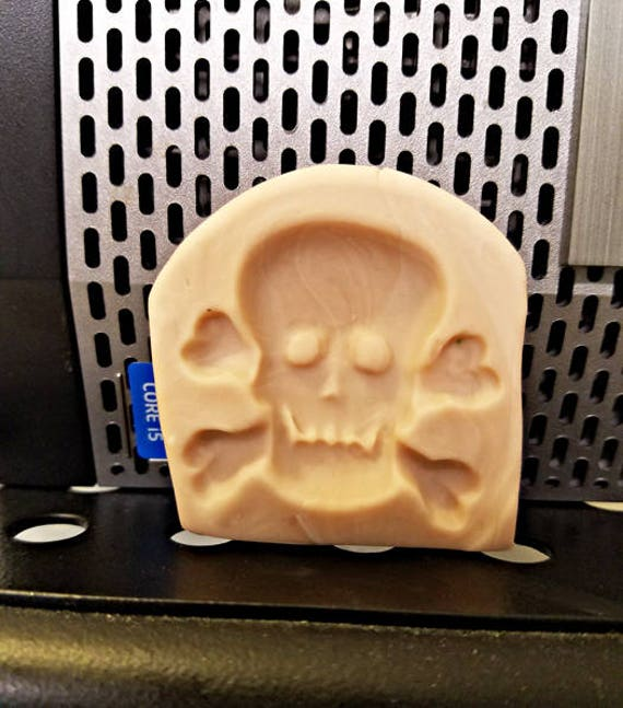 handmade clay mold pirate skull mold halloween skeleton goth pendant molds 35mm x 38mm polymer clay