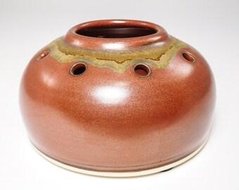 Japanese Ikebana - Pinfrog Flower Pot - Pinfrog Pot - Ikebana Planter - Ikebana Ceramic - Ikebana Container - Planter Ikebana - In Stock