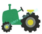 SALE 65% Off Tractor Farm Machine Embroidery Design 4x4 and 5x7 Instant Download