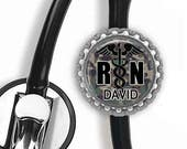 ON SALE - Personalized Stethoscope ID Tag - Nursing Student, Gifts for Nurses, Student Nurse Gift, Graduation Gift, Stethoscope Accessories
