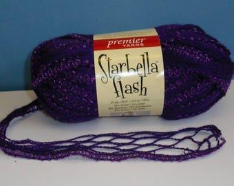 Premier Starbella Flash Ruffled Yarn - Tanzanite