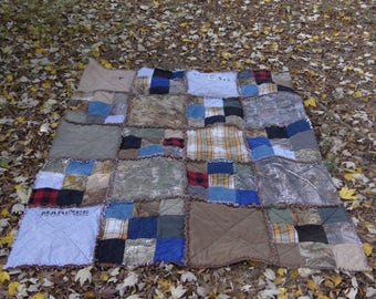 Memory Rag Quilt with your loved ones Clothing