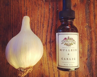 Mother Hylde's Herbal Ear Oil with Mullein and Garlic