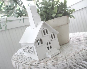 White Church * Shabby Chic * Cottage * Chapel * Chippy Paint