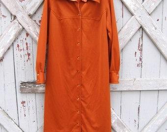 Supa Fly - 1970s disco dress L XL