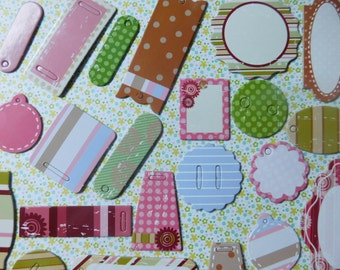 SALE - Variety of Chipboard Pieces for Arts and Crafts - 26 Different Designs