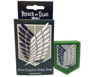 Officially Licensed Scout Regiment Attack on Titan Soap Survey Corps