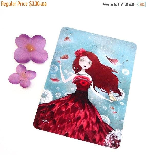 20% OFF - Special Offer - The Flower Fairy - Postcard