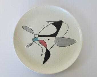 Poppytrail Mid Century Modern Tray Plate by Metlox