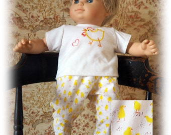15 inch Baby Doll Clothes will fit Bitty Twin Dolls or Bitty Baby Doll Outfit - Pants and Shirt