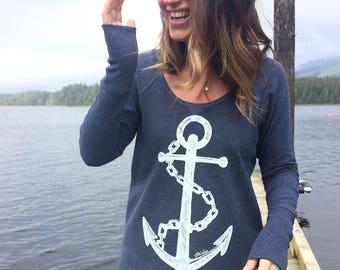 Nautical Navy Camper Shirt