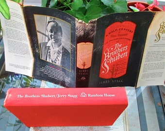 The  Brothers Shubert A Half Century of Show Business and Their Fabulous Empire, 1968 Jerry Stagg First Edition 48 pages of B/W Photographs