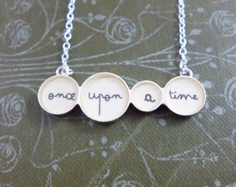 Once Upon a Time Row Necklace