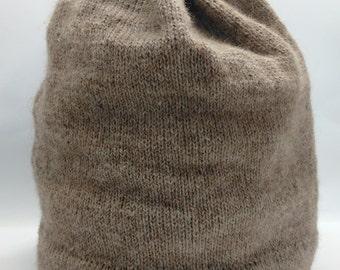 Light Tan Alpaca Hat