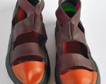 Assai Shoe - Purple, Orange and Green