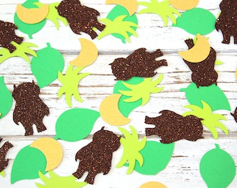 Where the wild things are Confetti - CAROL - Baby Showers, Table confetti, Party Decorations