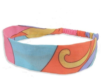 40% off Girlie Swirl Fabric Headband - only small size available