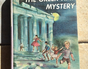 1964 Bobbsey Twins and the Greek Hat Children's Book