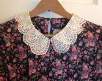 Floral Calico Dress by MCS Ltd. Size 6P
