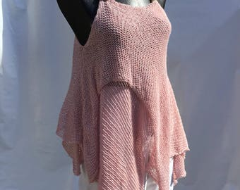 pink tunic , punk, urban chic, top, boho style, fairy , pixie
