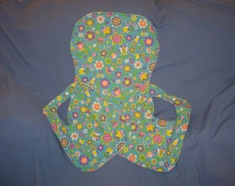 Set of Two Baby Bibs and a Burp Cloth (Free US Shipping)