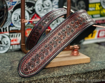 The Pugster - Guitar/ Bass Guitar Strap - ready to be trimmed to your spec's