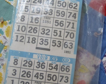 Unopened Package of Lucky Bingo Papers