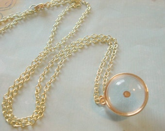 Mustard Seed Necklace Gold Globe Mustardseed Pendant Faith Necklace Mustard Seed Jewelry Inspiration Necklace