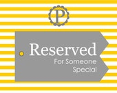 Reserved for Chrissy
